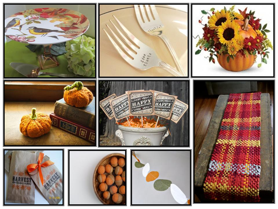 Decorating Ideas > Best Of Etsy Thanksgiving Table Decor  ConfettiStyle ~ 070224_Thanksgiving Decorations On Etsy