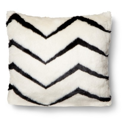 Zig Zag Faux Fir Pillow