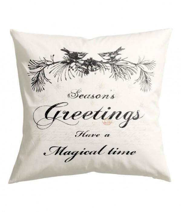 Seasons Greetings Pillow