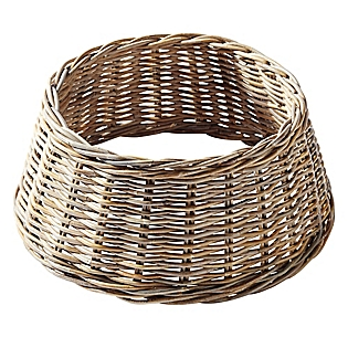 baskets specifically for christmas trees via serena lily