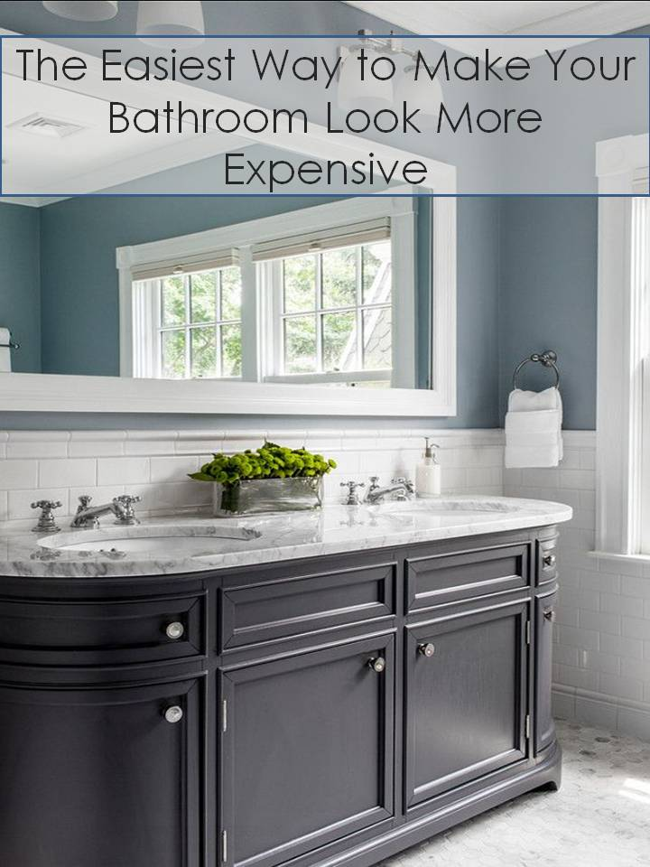 Give Your Bathroom A Budget Freindly Makeover Confettistyle