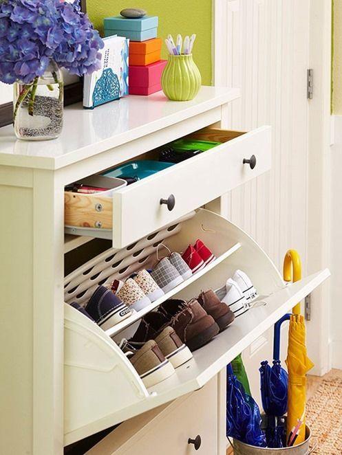 Product + Inspiration: Hemnes Shoe Cabinet | ConfettiStyle
