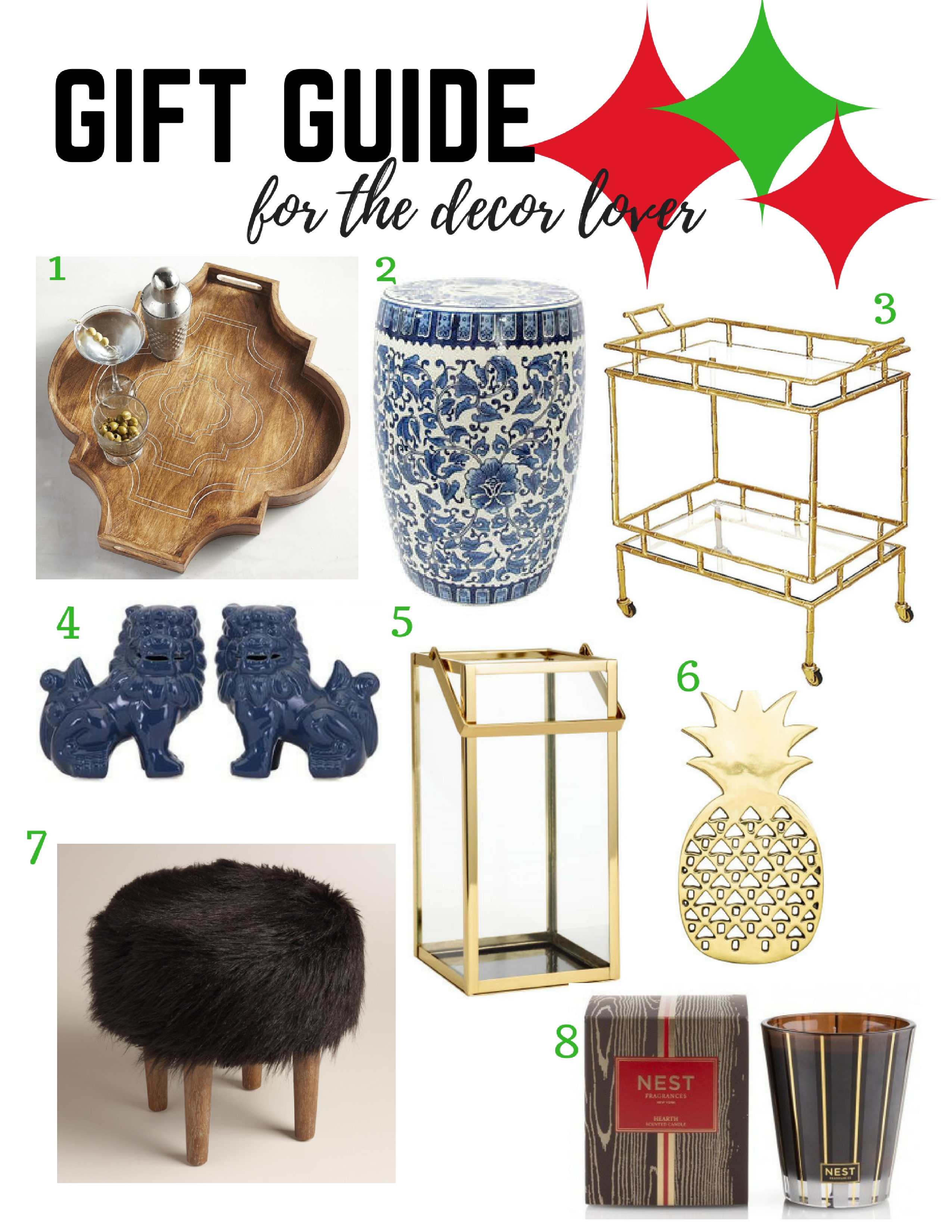 Holiday Gift Guide For The Decor Lover ConfettiStyle